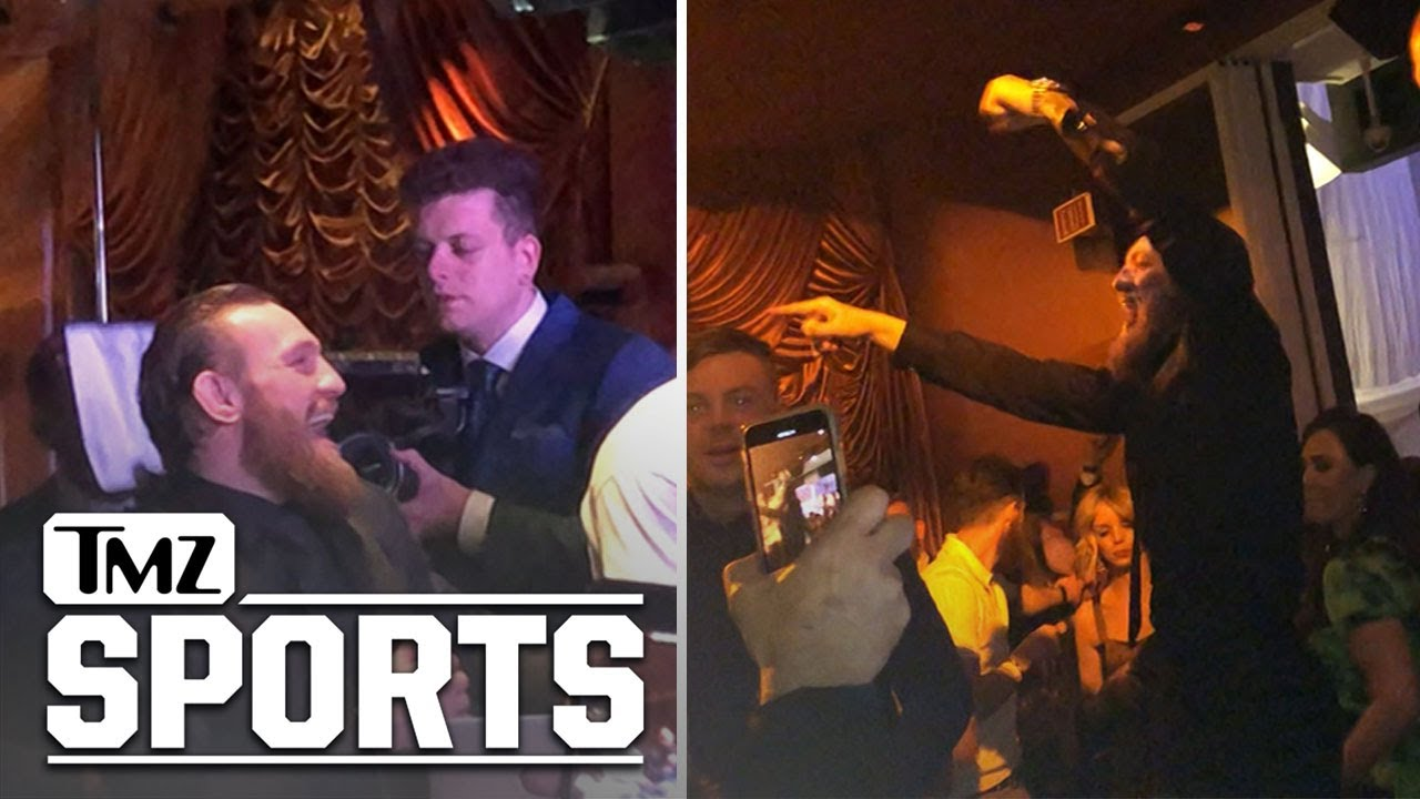 Conor McGregor Parties Vegas Style After Winning UFC Match Against Donald Cerrone | TMZ Sports