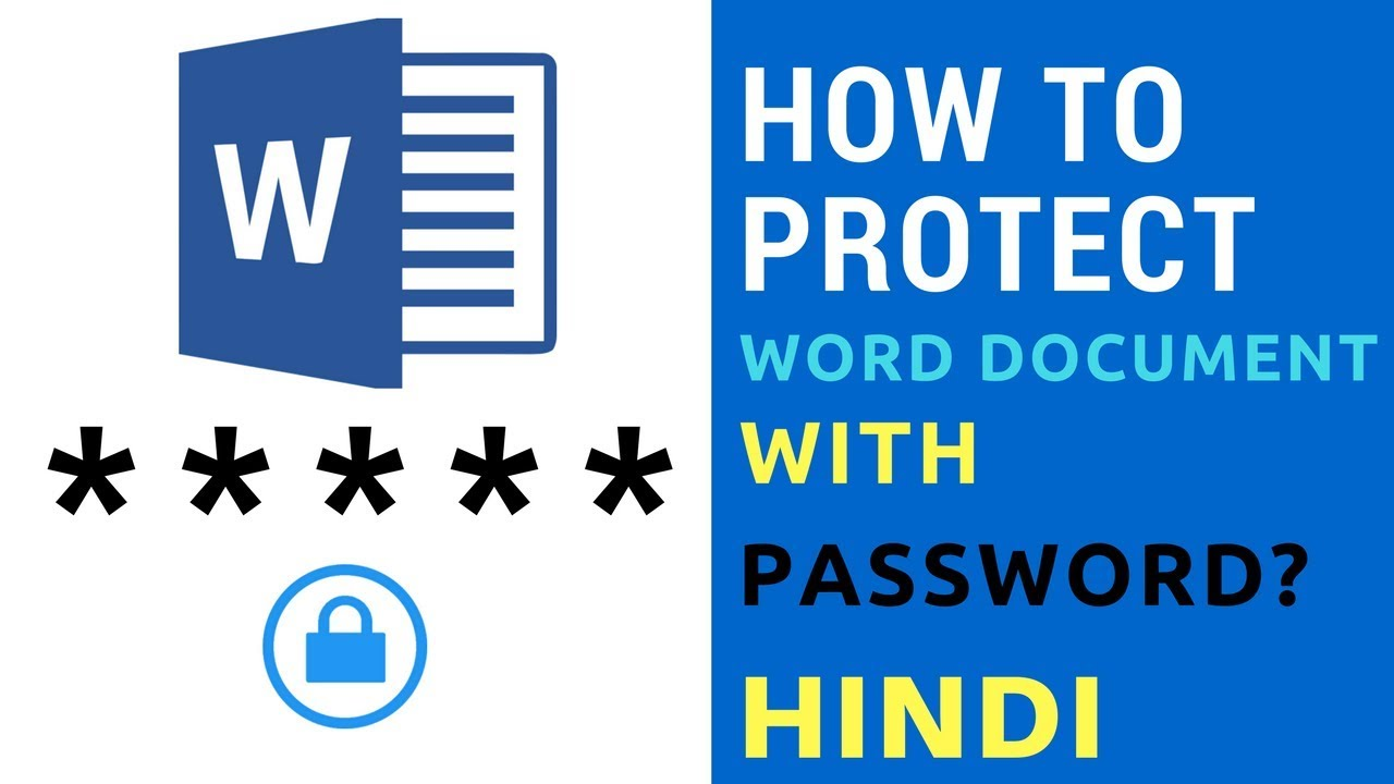 how to protect a word doc