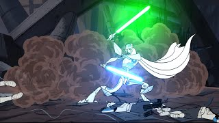 The Clone Wars (2003) - HD Remaster Project (Added Saber FX/Blood)