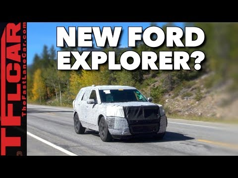 The New 2019 Ford Explorer Spied in the Wild!
