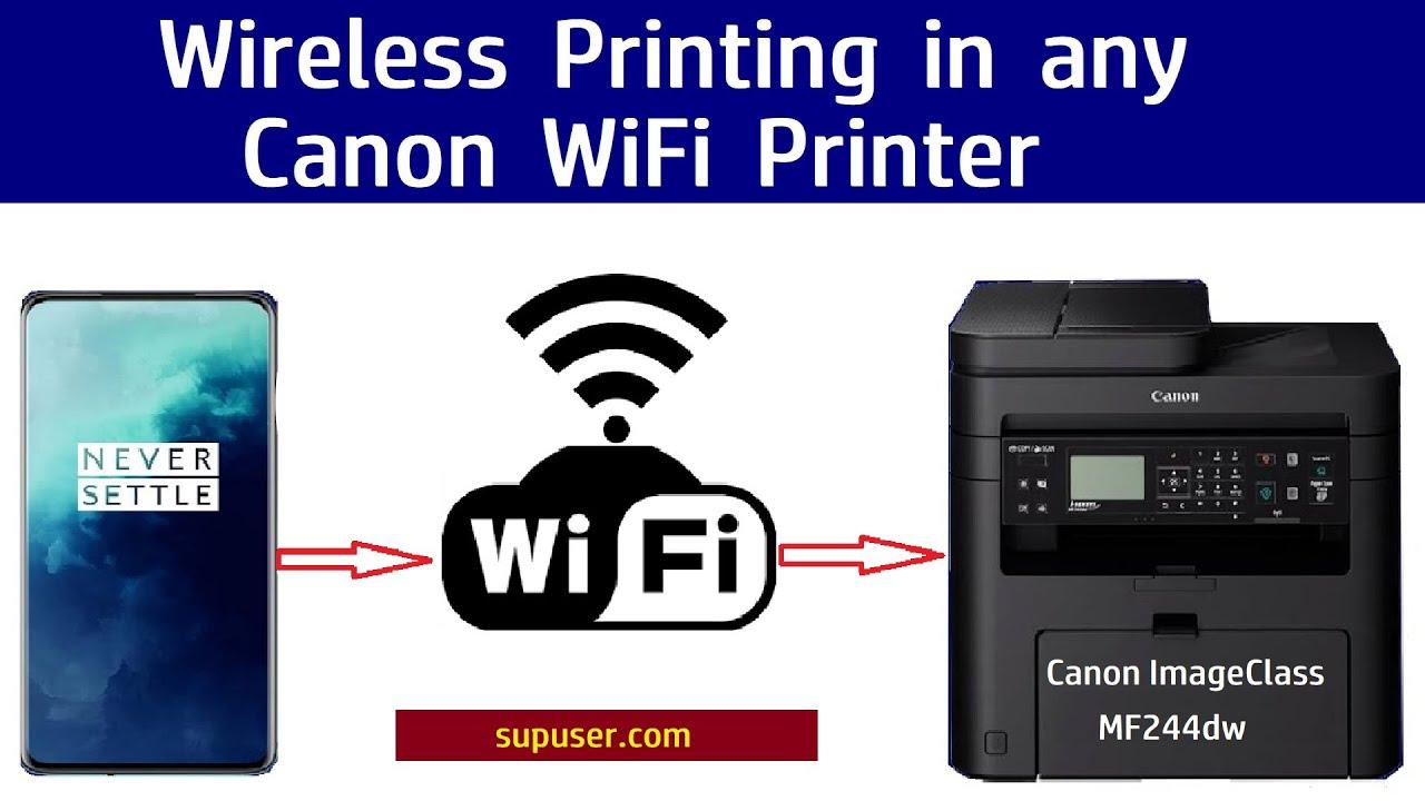 🔥🔥imageCLASS Wireless Setup and Wireless Printing from Mobile MF20dw,  MF20dw, MF20W🔥🔥