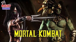 СРАЖАТЬСЯ В ПУСТЫНЕ НЕ ПРОСТО! Рокки играет в Mortal Kombat XL! Часть 3! 18+
