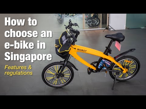 How to Choose an e-Bike in Singapore: Features & Regulations