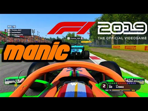 F1 2019 game Manic Monza - YouTube