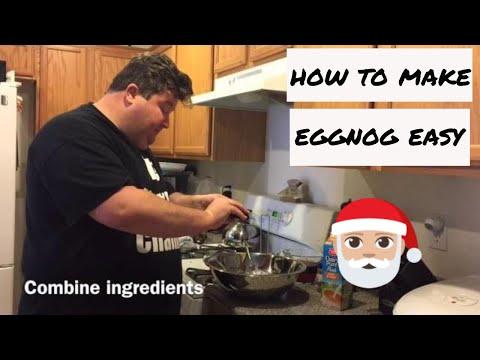 How to make Eggnog Easy