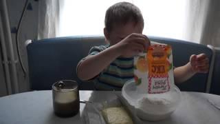 Рецепты Тестируем смесь для выпечки ЕДИМ ДОМА. Кекс Апельсиновый