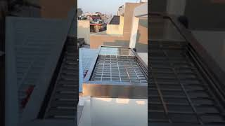Giếng trời tự động 3 lớp - Sơn Hà: Thi công giếng trời tự động thông minh - 0933 453 940