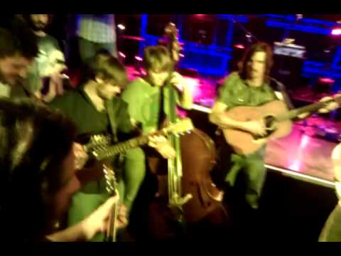 Greensky Bluegrass & Oakhurst - 11-6-2011 - Acoustic Crowd Encore #2 (1/2) - I Know You Rider