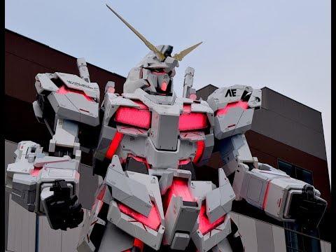 Lifesize 19.7 Meter Unicorn Gundam Debuts in Tokyo
