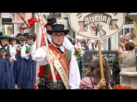 Bezirksmusikfest in Sterzing 2018 - Festumzug & Festakt