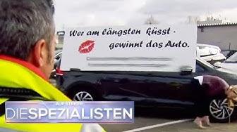 Gefährliche Küsse: Auto-Knutsch Wettbewerb macht Frauen krank   Die Spezialisten   SAT.1 TV