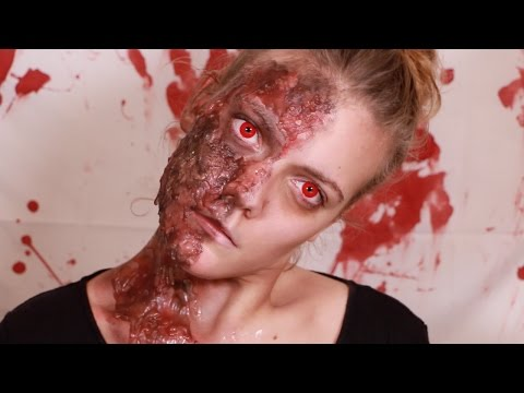 Halloween 🎃 : Visage brulé (ATTENTION, lire barre d