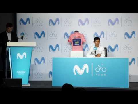 Rueda de prensa previa al Giro de Italia - Nairo Quintana #CenteNairo