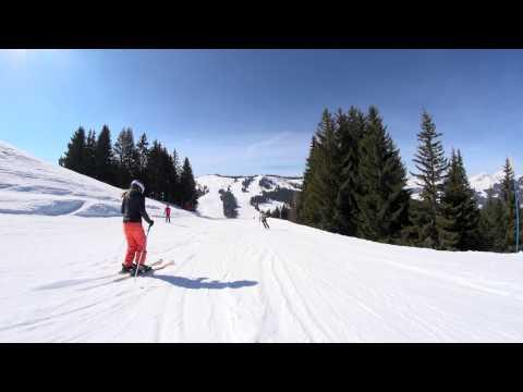 Piste de ski La Violette - Les Gets