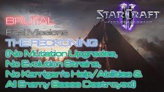 Starcraft Ii: Heart Of The Swarm - Vanilla Run - Brutal - Final Missions - Missi