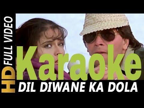 Dil Deewane Ka Dola Dildaar Ke Liye Karaoke - Tahalka ( 1992 ) Kumar Sanu, Anuradha & Babla Mehta