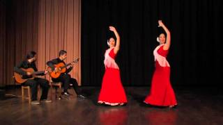 Entre dos aguas (Paco de Lucia) - flamenco dancing and guitar, Barcelona