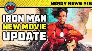 Iron Man New Movie, James Gunn Fired, Stan Lee in DC, Venom, Joker | Nerdy news #18