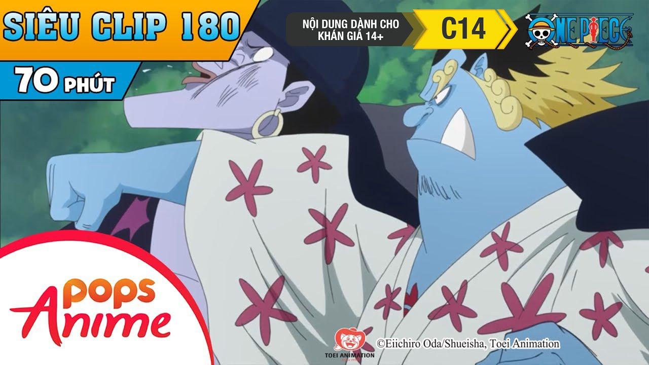 One Piece Siêu Clip Phần 180 - Những Cuộc Phiêu Lưu Của Luffy Và Băng Mũ Rơm - Hoạt Hình Đảo Hải Tặc