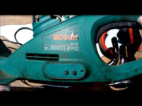 Repair / Popravka - Bosch ASH 6000 PRO