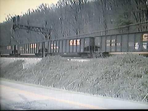 CSX Coal Train at Barboursville, West Virginia