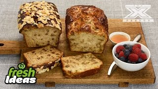 Easy Banana Bread Recipe  - With Luke Jacobz From The X Factor