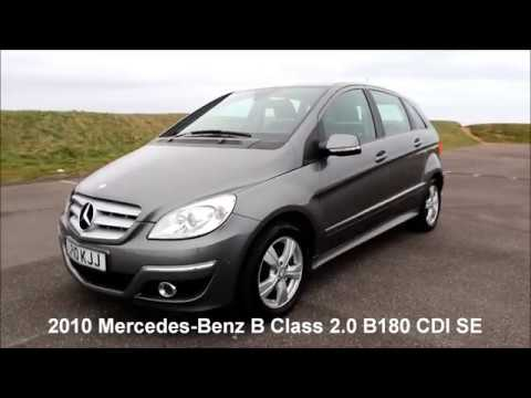 2010 mercedes benz b class 2 0 b180 cdi se 5dr hatchback manual rh youtube com mercedes benz b180 cdi owners manual Mercedes A180 CDI