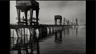 Строительство Волжской ГЭС The Volga hydroelectric Power Station 1950s