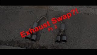 homepage tile video photo for Subaru Exhaust Swap Install Part 2 4in Mufflers- 2016 Subaru WRX
