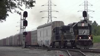 Epic Fail NS 750 Slug and Epic Consist NS 885 Coal Train
