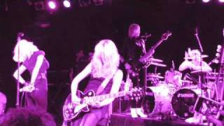 "Chelsea Girls ""Barracuda"" Live"