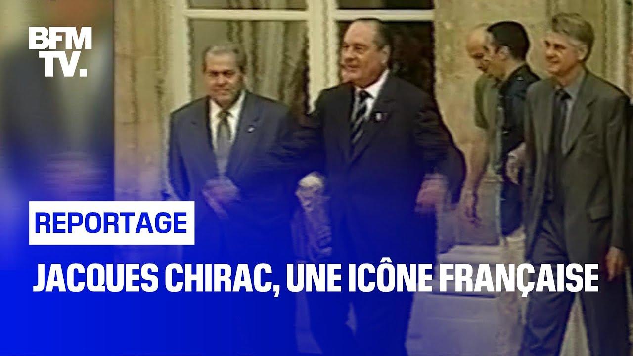 Jacques Chirac, une icône française