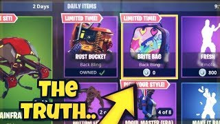 "How To Get The BRITE BAG Back Bling FREE! Fortnite Battle Royale - New ""Brite Bag"" Fortnite"