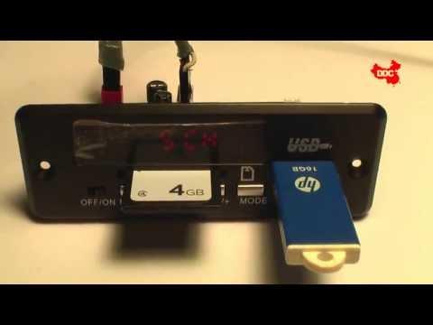 Direct Din China - Modul MP3 cu Radio FM