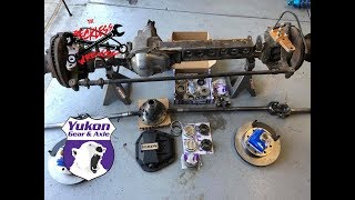 Dana 60 Axle Rebuild & Upgrade - Reckless Wrench Garage