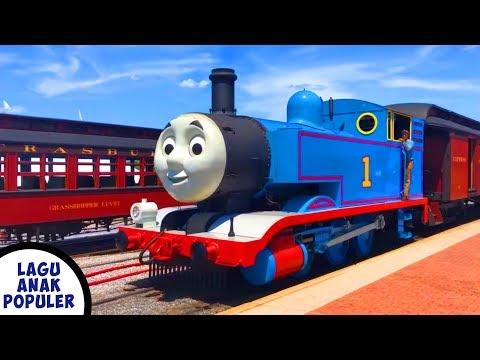 Lagu Anak Naik Kereta Api Tut Tut Tut - Kereta Api Thomas And Friends Asli