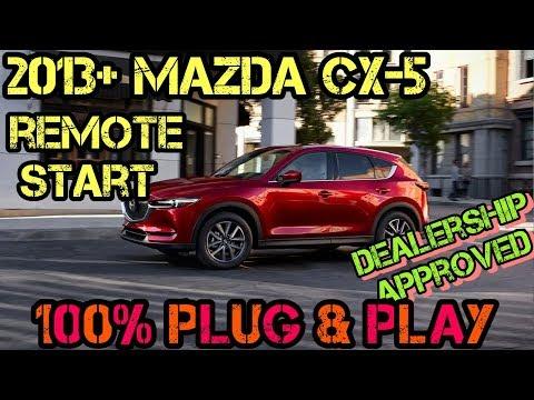 2013+  Mazda CX-5 100% Plug & Play Remote Start Kit – FULL INSTALL