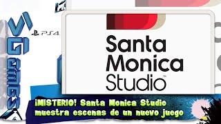 ¡MISTERIO! Santa Monica Studio  muestra escenas de un nuevo juego