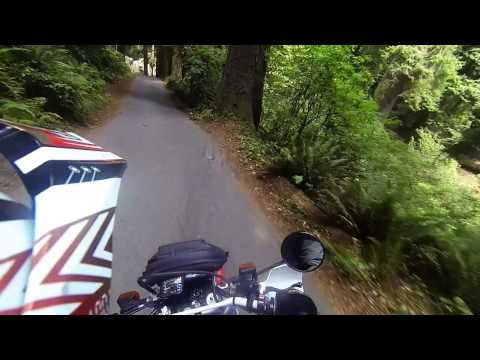 Ride thru Sequoia Park Eureka, CA