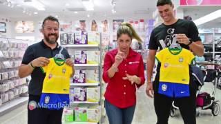 Patricia Maldonado - Enxoval com a Comissão Técnica da Seleção Brasileira na Macrobaby