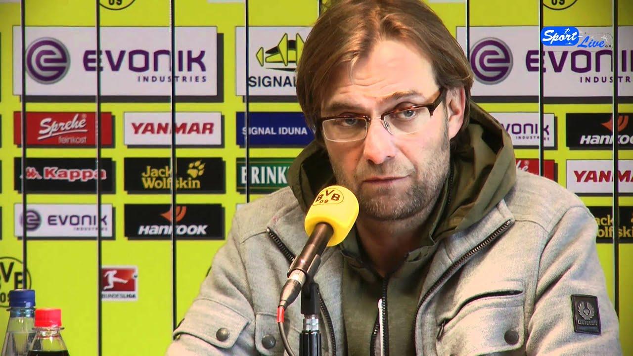 Borussia Dortmund - 1.FC Nürnberg Pressekonferenz 01.02.2012 Teil 2