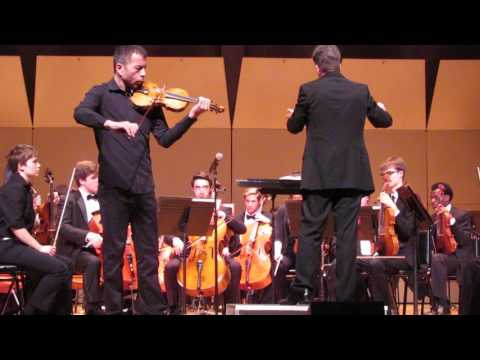 J. Sibelius Violin Concerto in D minor  Allegro Moderato, Kiril Laskarov, violin