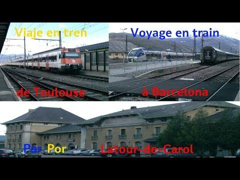 VT#24 - Voyage en train de Toulouse à Barcelone par les Pyrénées - Partie 1: Latour-de-Carol