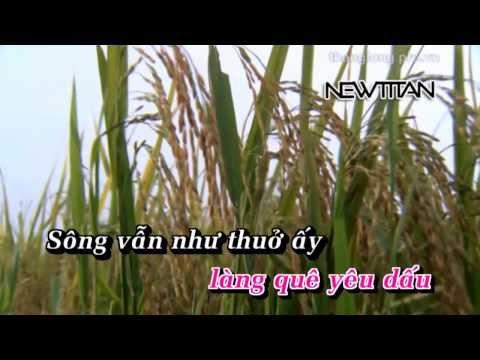 [DVD Karaoke] Trở về dòng sông tuổi thơ - Anh Thơ HD