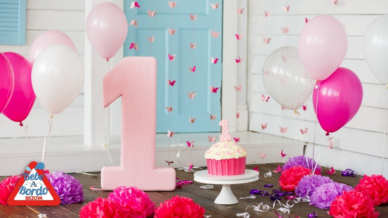 Ideas para celebrar el primer cumplea os de tu beb youtube - Ideas decoracion bebe ...