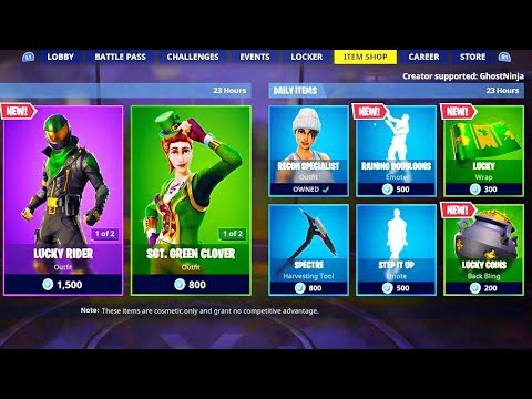 *NEW* RARE SKIN in ITEM SHOP! (New Fortnite Skins) thumbnail