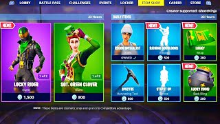 'NEW' RARE SKIN dans ITEM SHOP! (New Fortnite Skins)