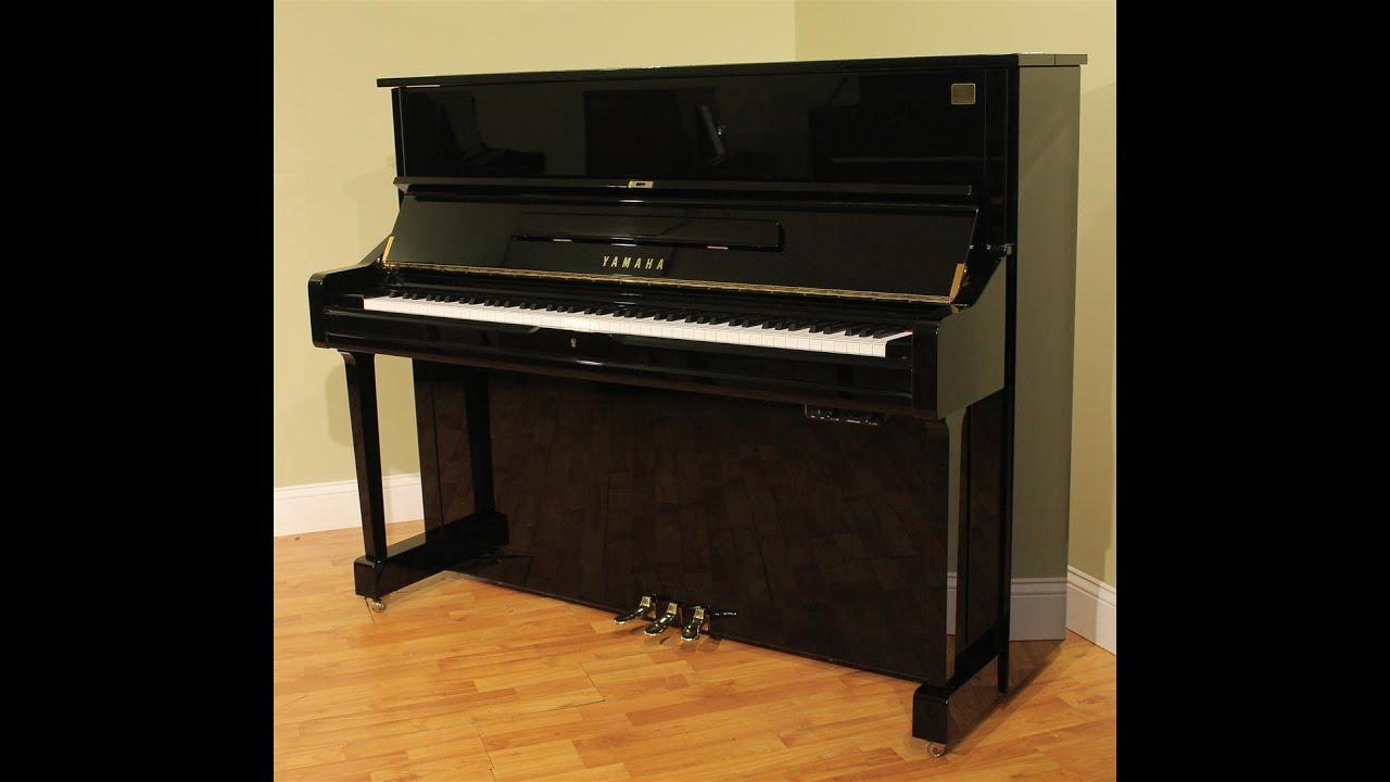 Yamaha u1 silent mp1z 48 39 39 upright piano 2000 youtube for Piano u1 yamaha price