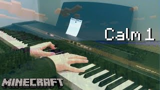 Minecraft music piano calm 1 video