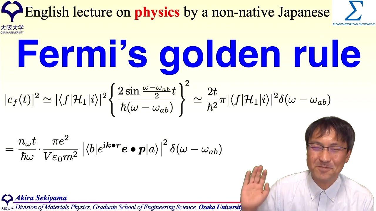 Fermi's golden rule
